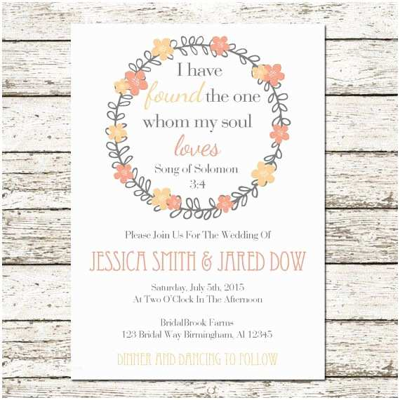 Bible Verses For Wedding Invitation 17 Best Images About Wedding Ideas On