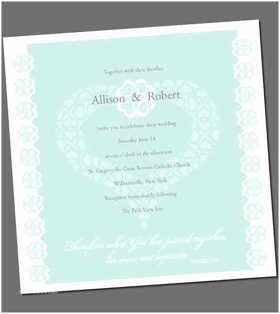 Bible Verses for Wedding Invitation Items Similar to Wedding Invitation with Bible Verse