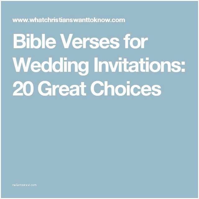 Bible Verses For Wedding Invitation The 25 Best
