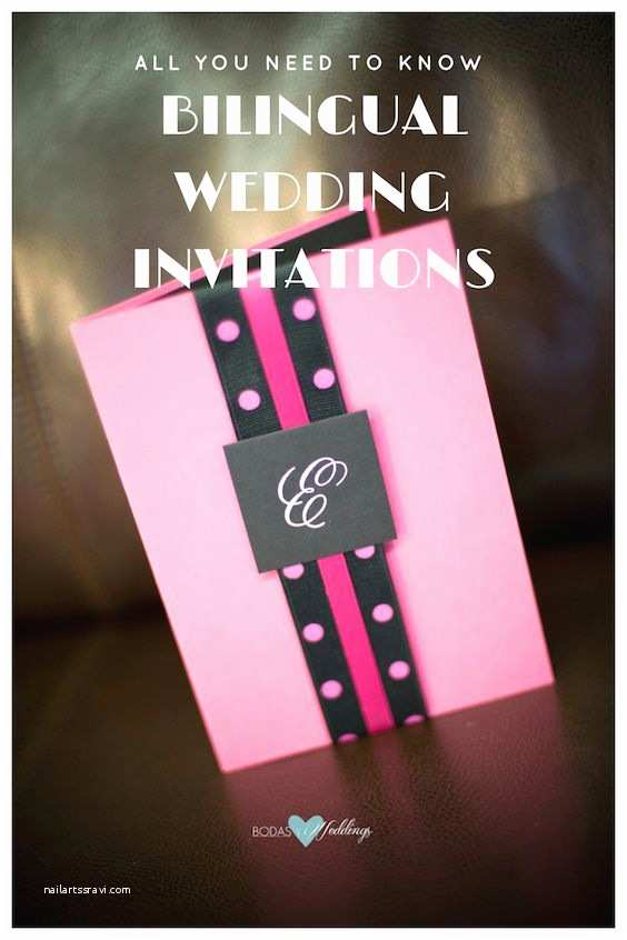 Bilingual Wedding Invitations How Bilingual Wedding Invitations Can Keep You Out Of Trouble