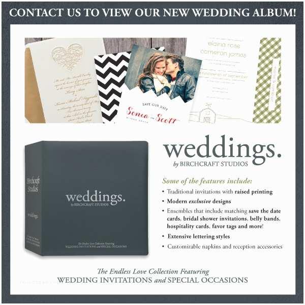 Birchcraft Wedding Invitations It S Here Weddings by Birchcraft Studios