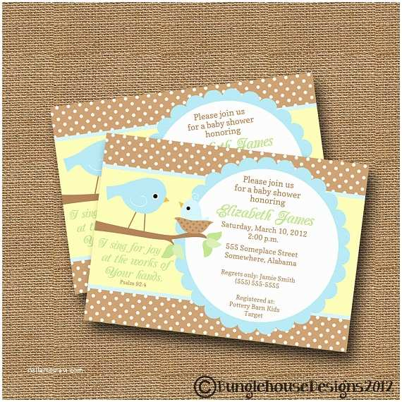 Bird Baby Shower Invitations Bird Baby Shower Invitation Diy Printable by