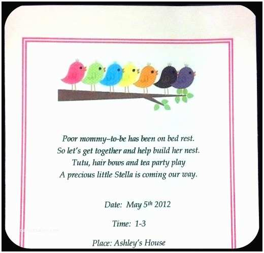 Bird Baby Shower Invitations Party Ideas for A Bird themed Baby Shower