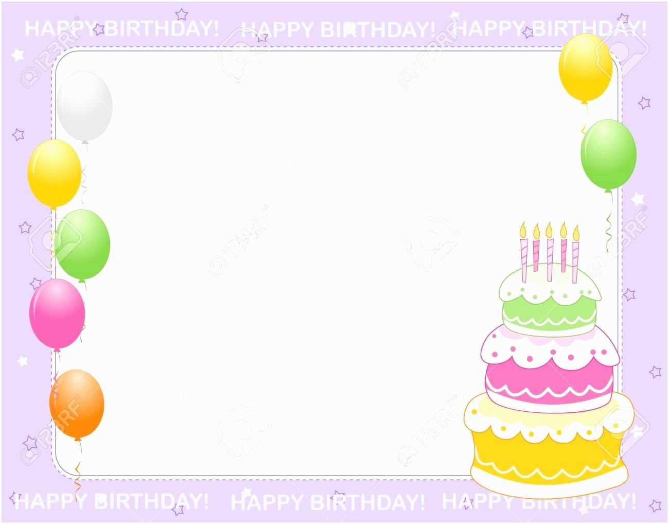 Birthday Invitation Cards Birthday Card Invitation Background Design