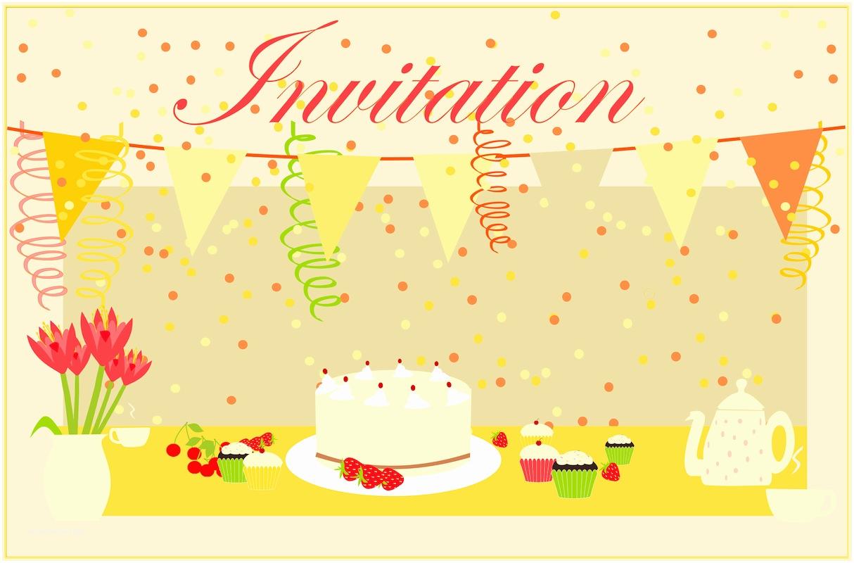Birthday Invitation Cards Free Printable Party Invitation Card – Coffee Invitation