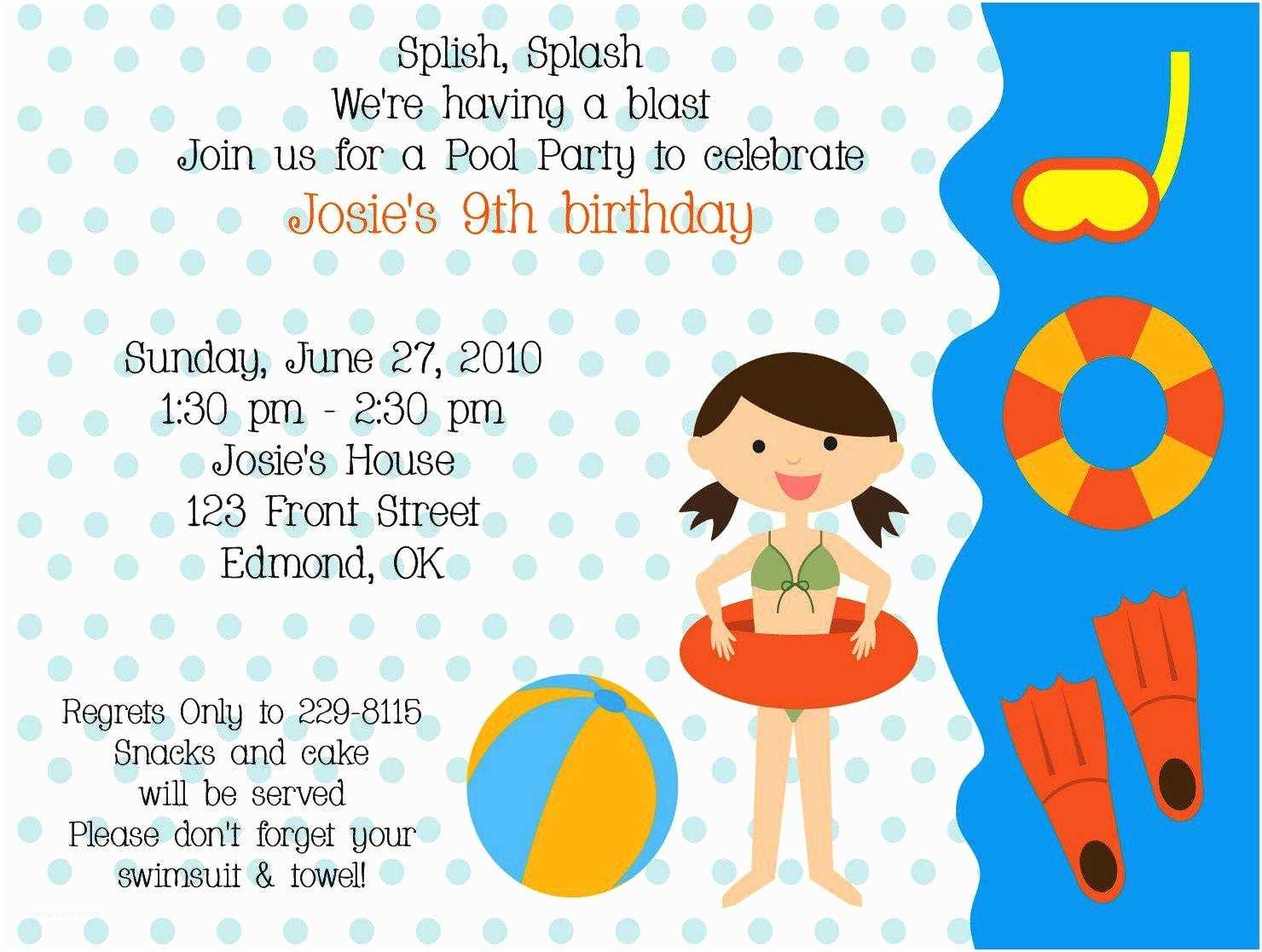 Birthday Invitation Message 21 Kids Birthday Invitation Wording that We Can Make