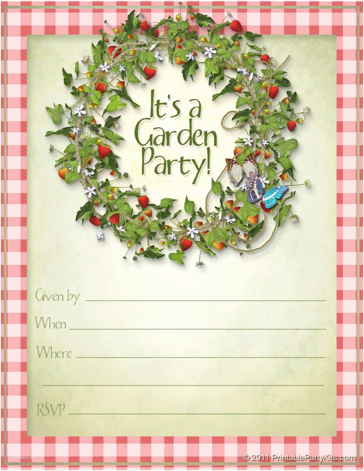 Birthday Invitation Template Card Template Summer Party Invitation Template Card