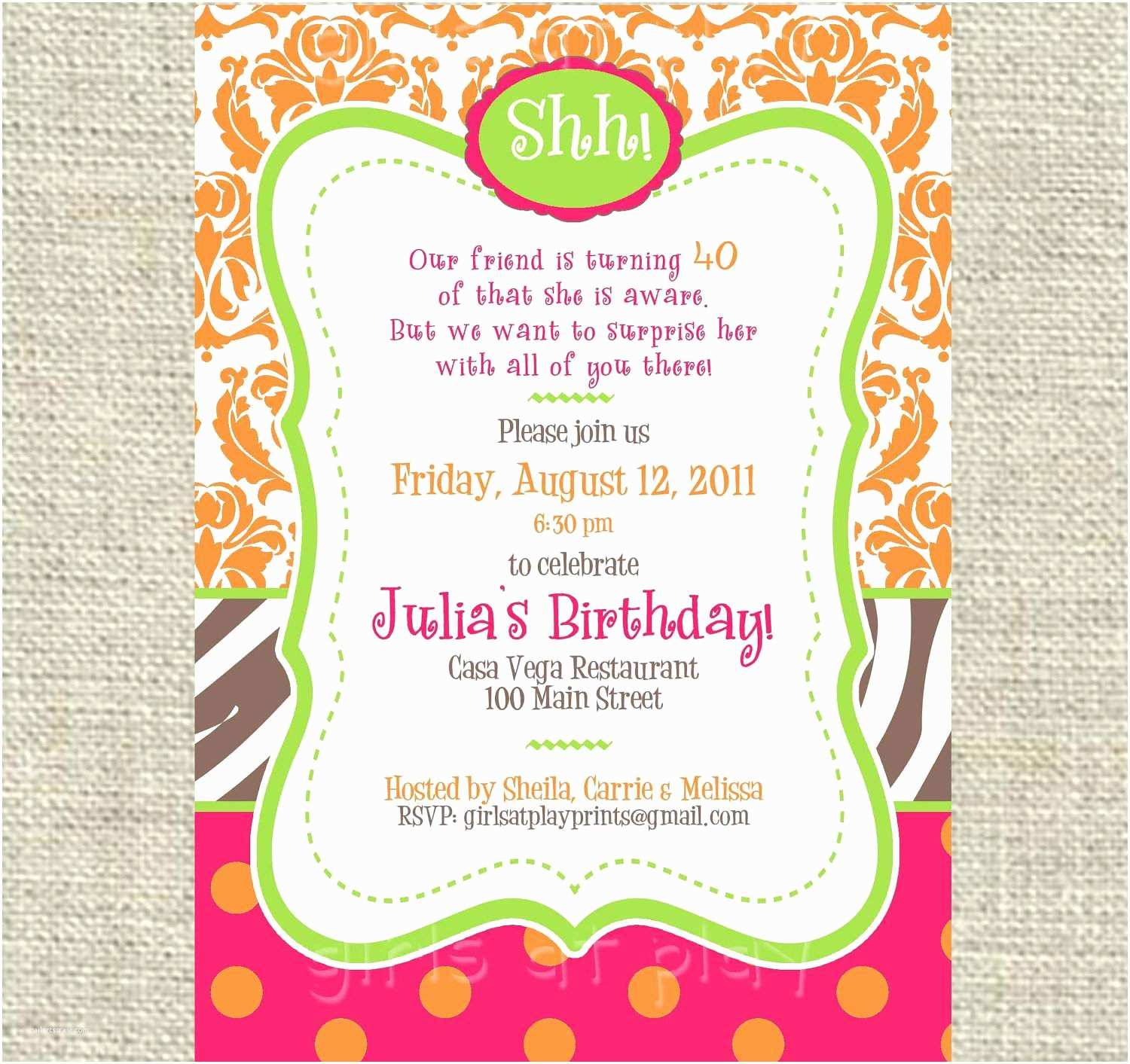 Birthday Invitation Text Kids Birthday Invitation Wording Ideas