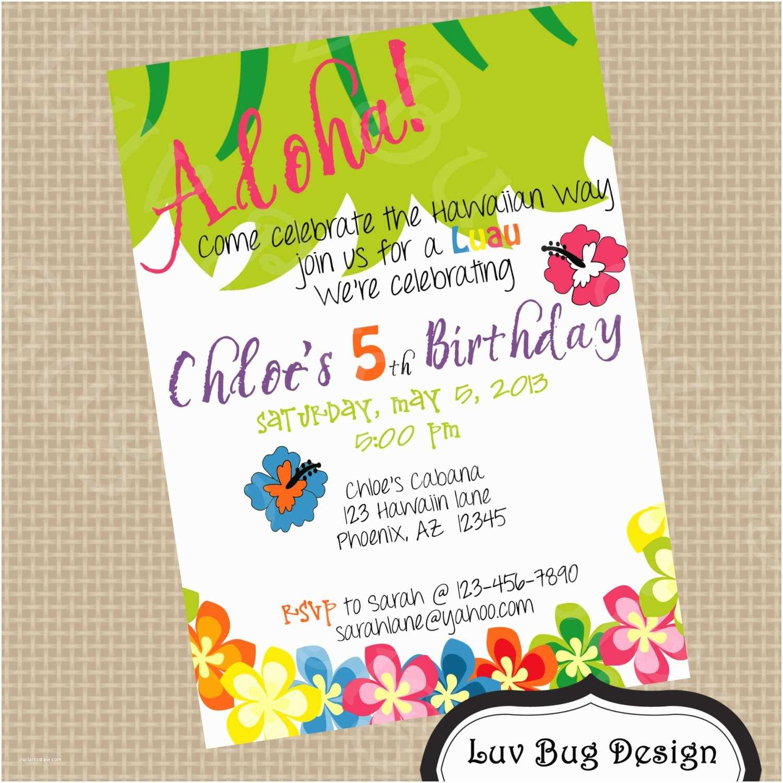 Birthday Invitation Wording 5th Party