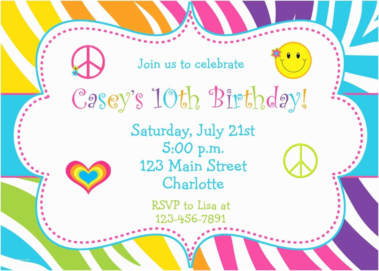 Birthday Invitations Online Birthday Party Invitations Nailartssravi