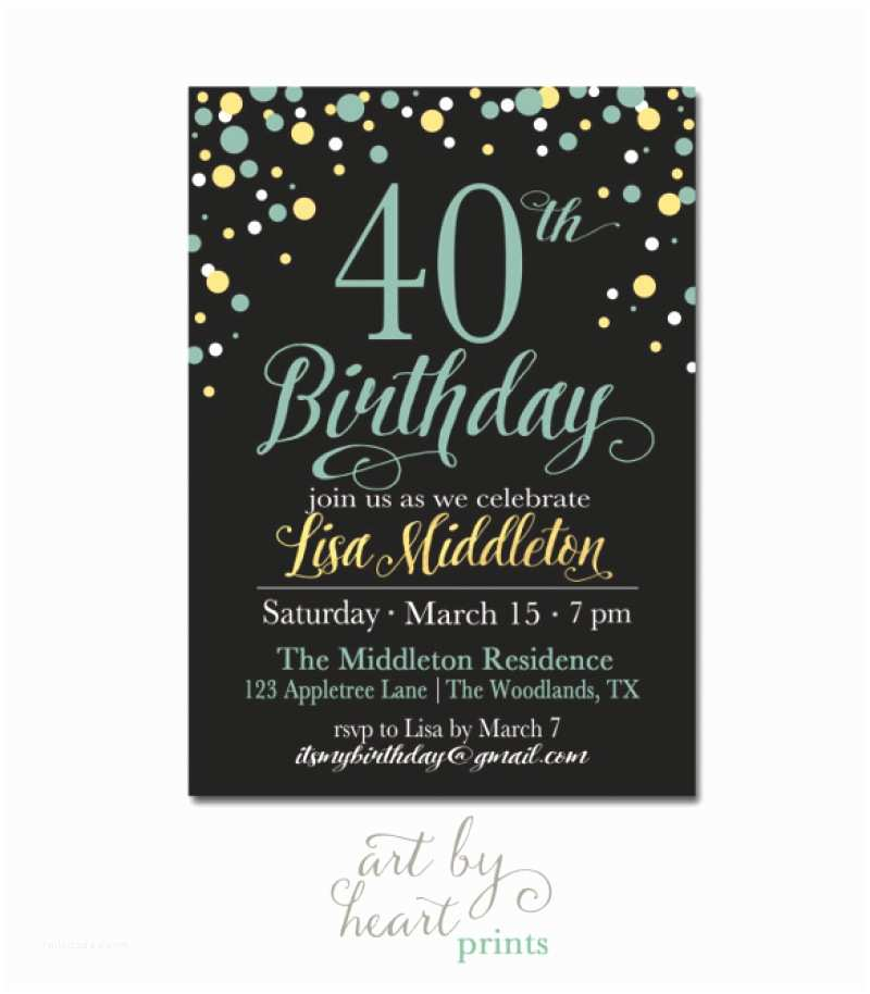 Birthday Invitations Templates 40 Birthday Invitation Template – orderecigsjuicefo