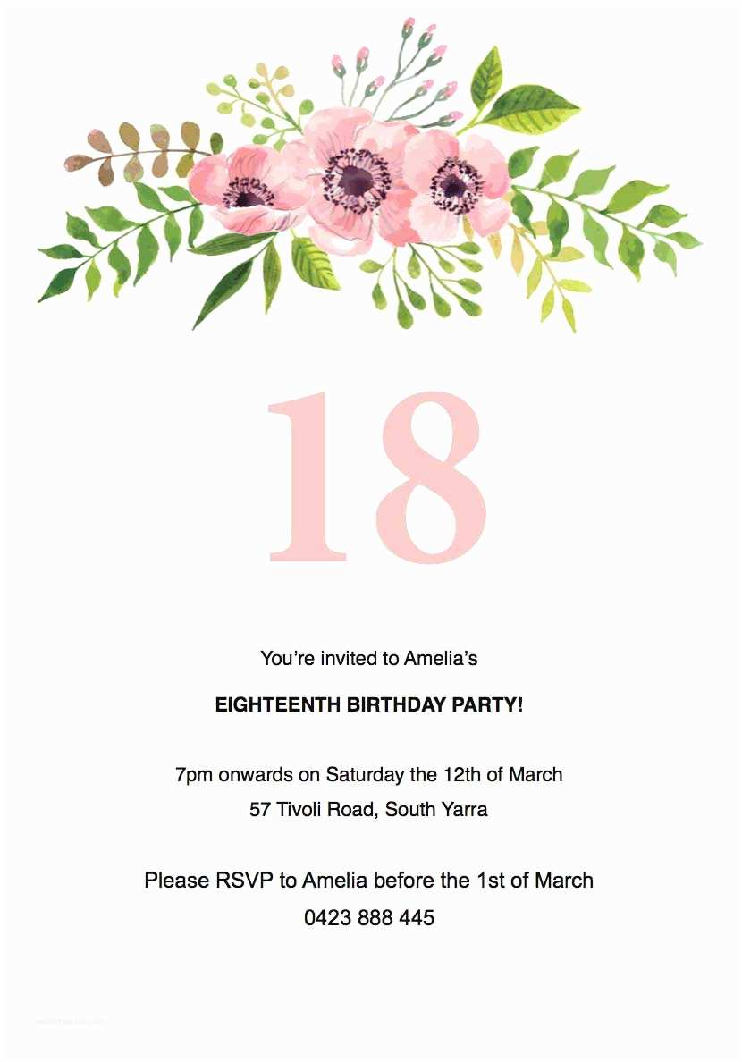 Birthday Invitations Templates Birthday Party Invitations Independent Designs Printed