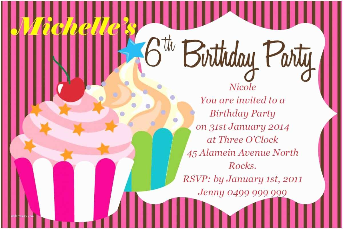 Birthday Invitations with Picture Birthday Invites Online Birthday Invites Line with A