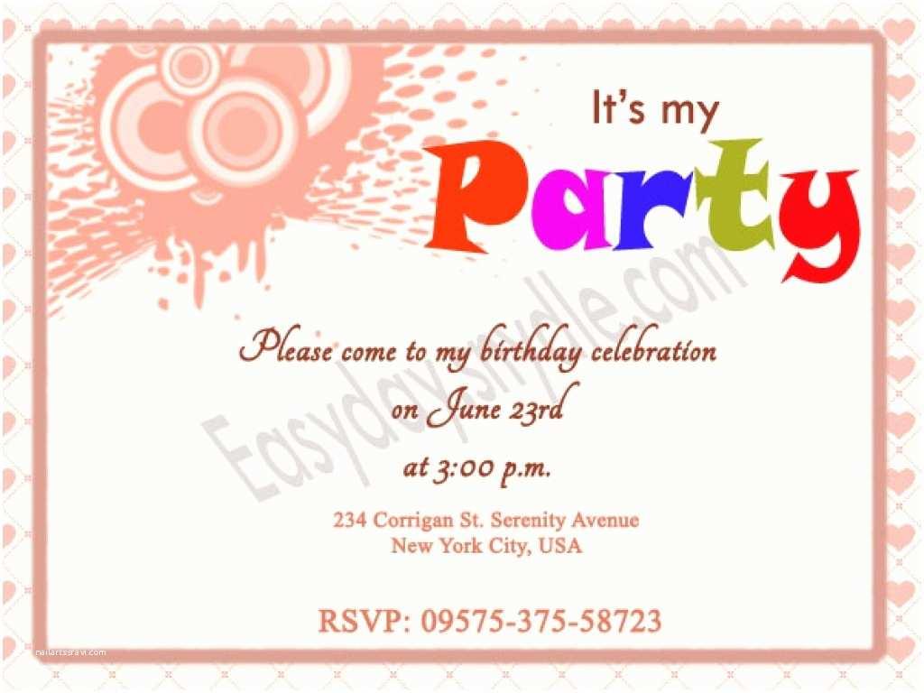 Birthday Party Invitation Ideas Kids Birthday Invitation Wording Ideas