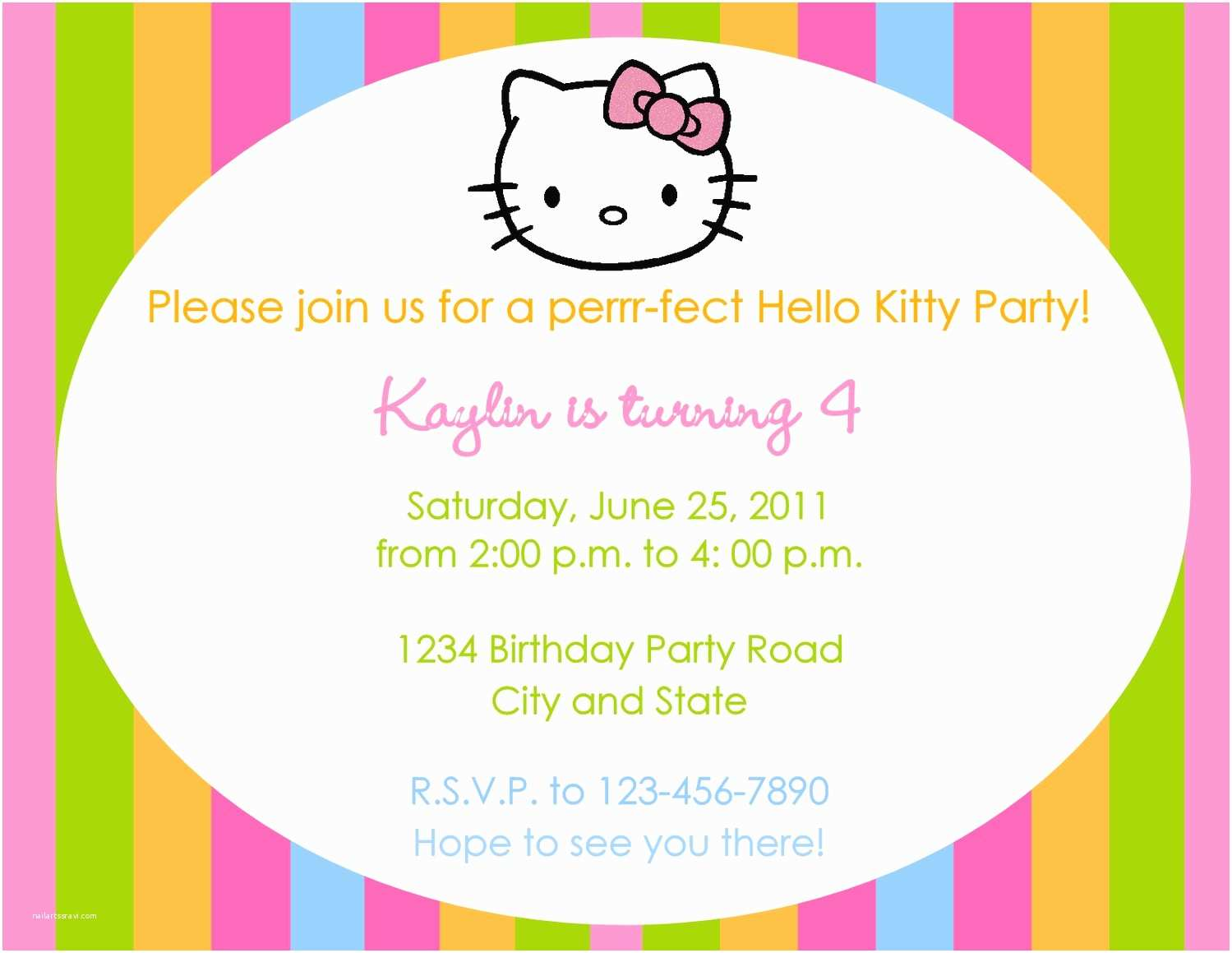 Birthday Party Invitation Message 3 Year Old