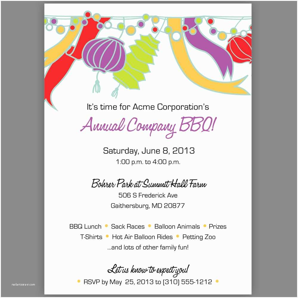 Birthday Party Invitation Sample Luncheon Wording Template
