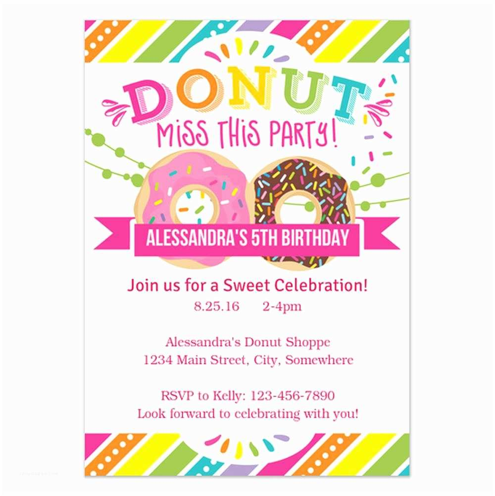 Birthday Party Invitation Template 18 Birthday Invitations for Kids – Free Sample Templates