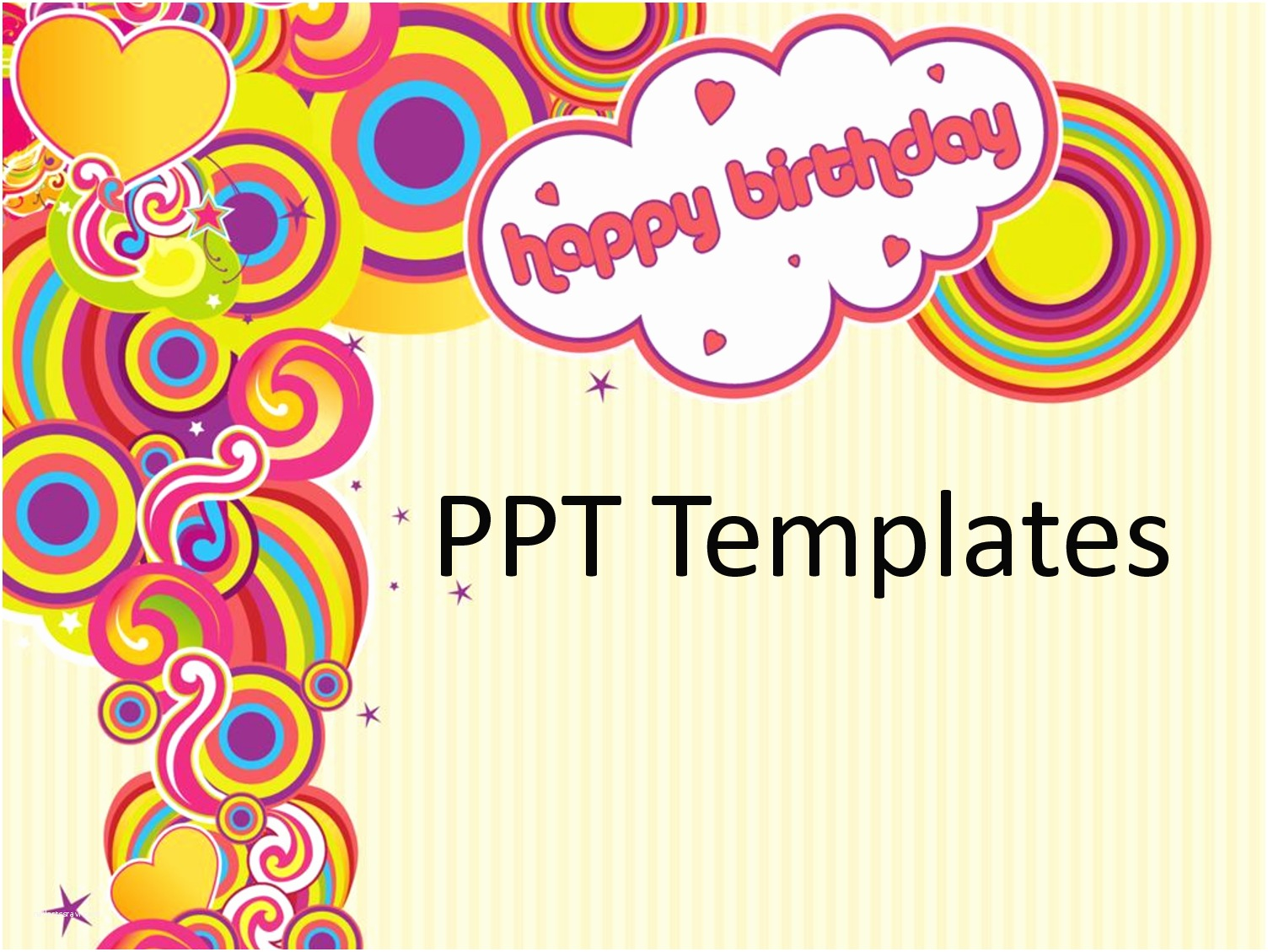 Birthday Party Invitation Template Free Birthday Card Templates – Gangcraft