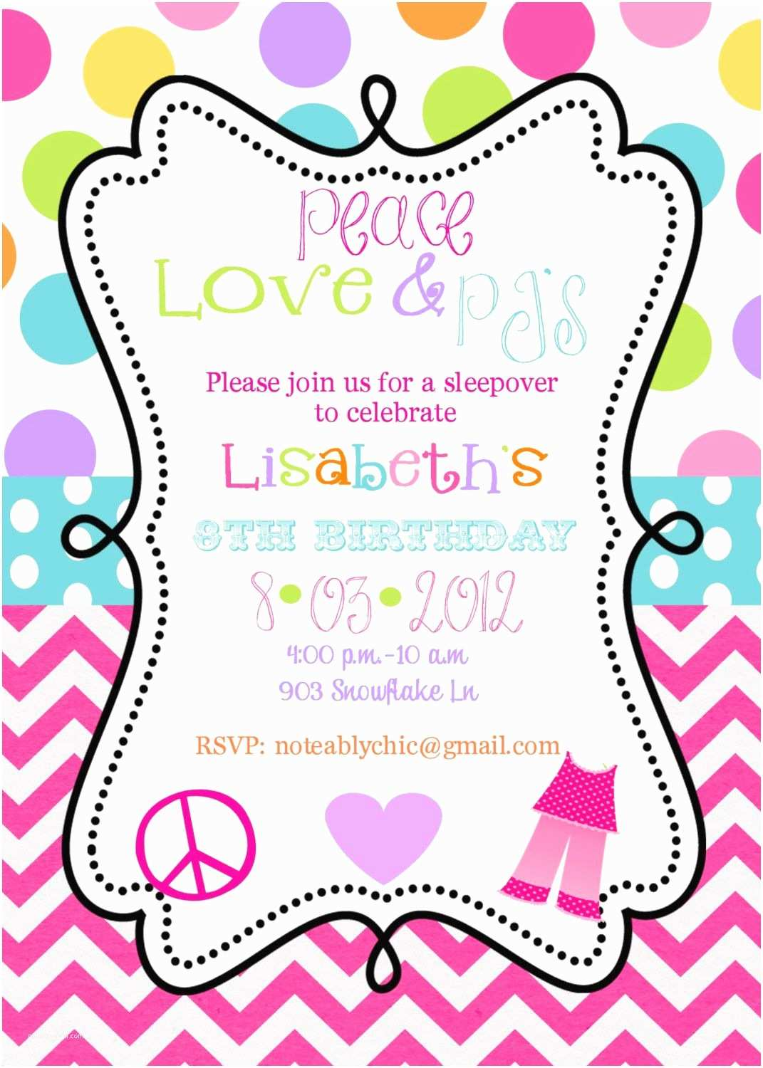 Birthday Party Invitation Template Free Birthday Invitations Templates
