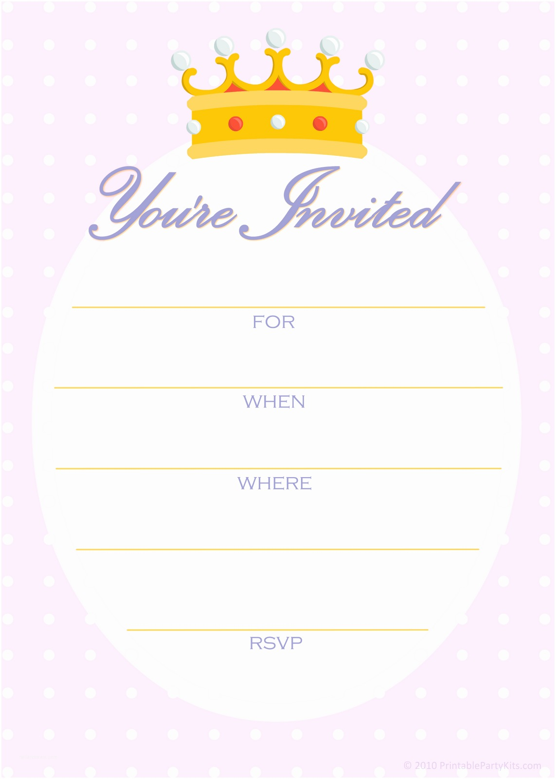 Birthday Party Invitation Template Free Printable Party Invitations Free Invitations for A