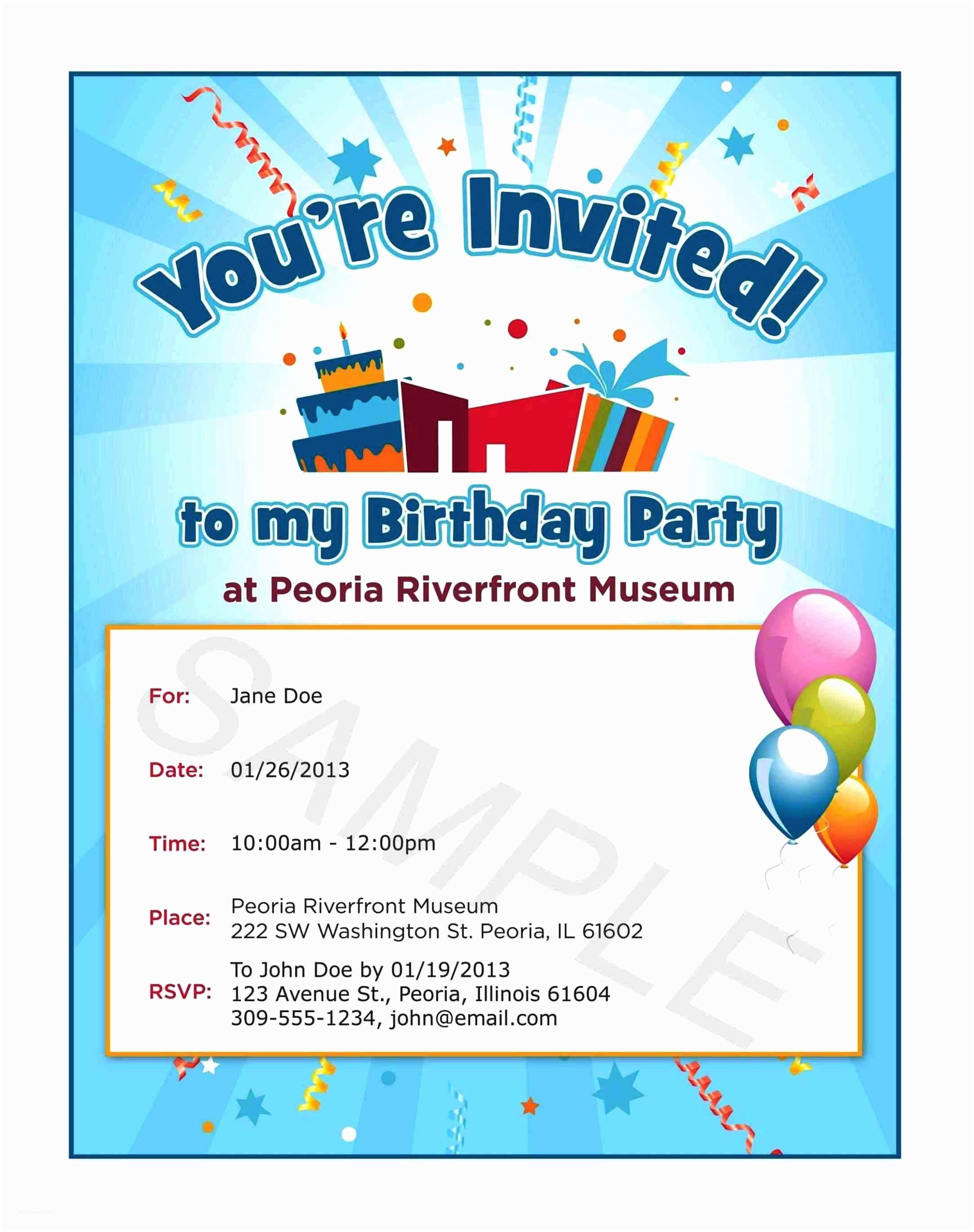 Birthday Party Invitation Text Text Invitation Birthday Party Invitation Librarry