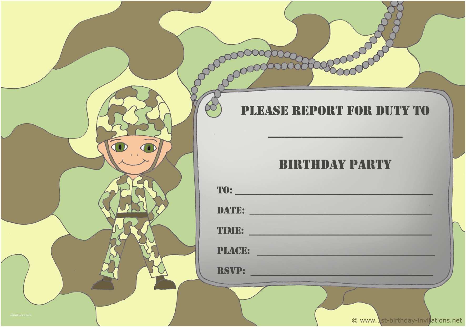 Birthday Party Invitations 14 Printable Birthday Invitations Many Fun themes