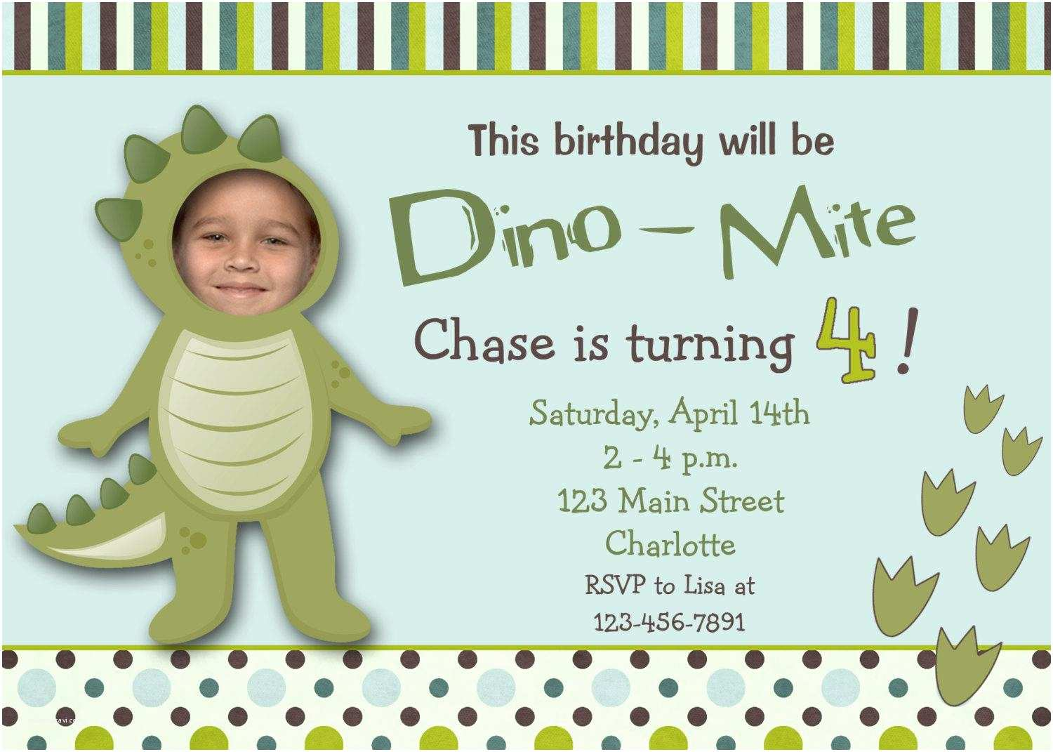 Birthday Party Invitations 17 Dinosaur Birthday Invitations How to Sample Templates
