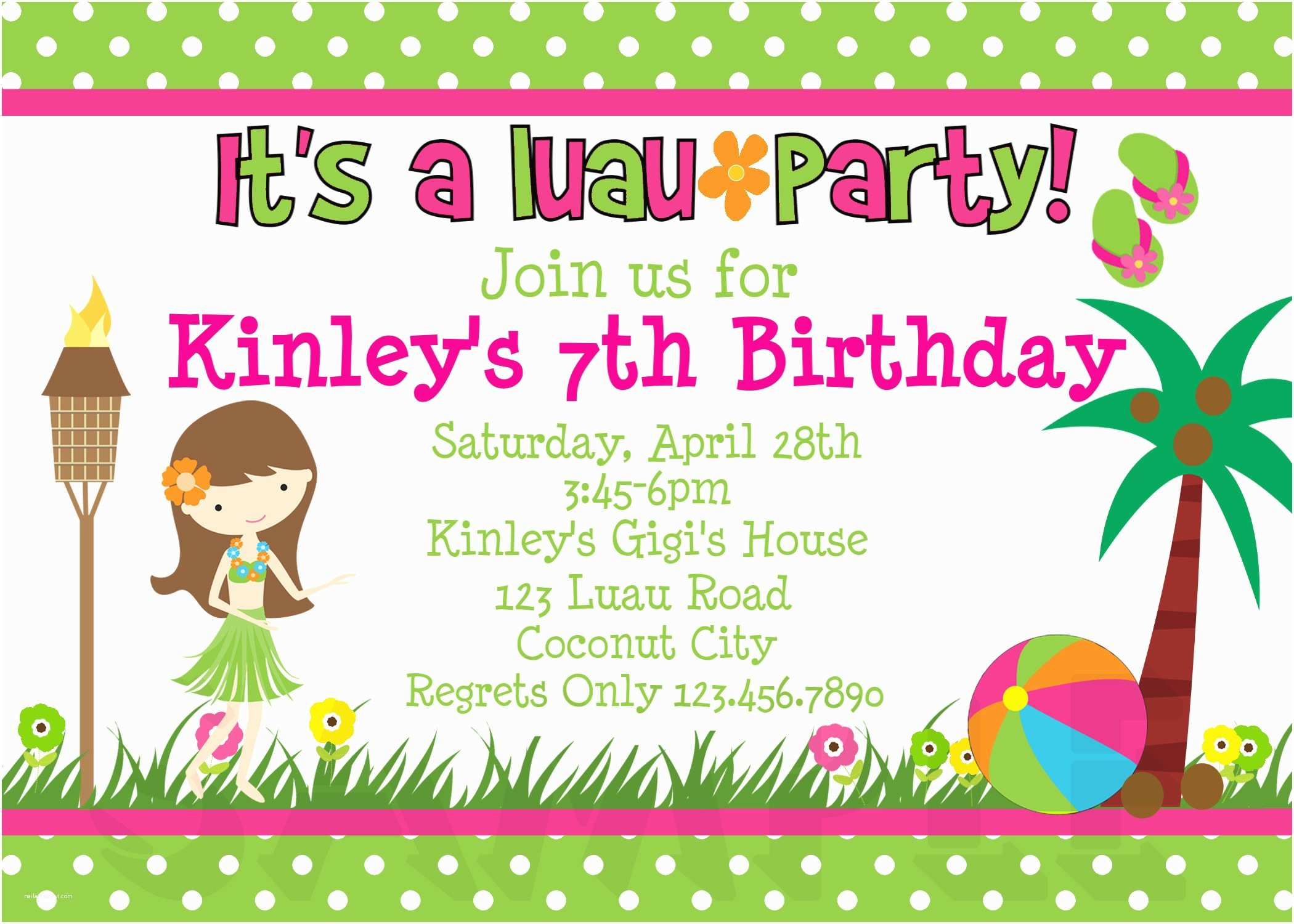 Birthday Party Invitations Free Printable Birthday Invitations 4