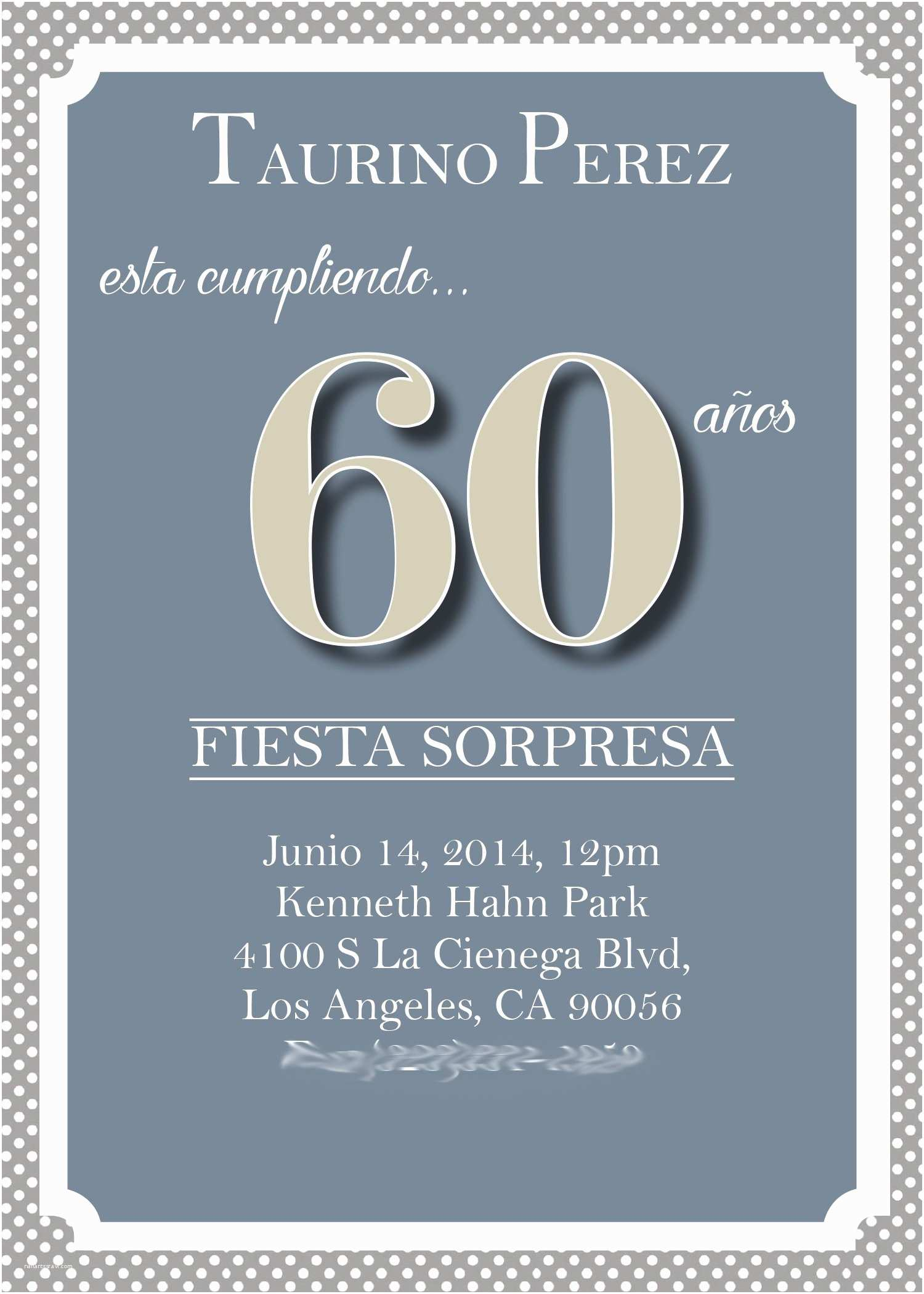 Birthday Party Invitations Online Adult Birthday Invitation 60th Birthday Invitations