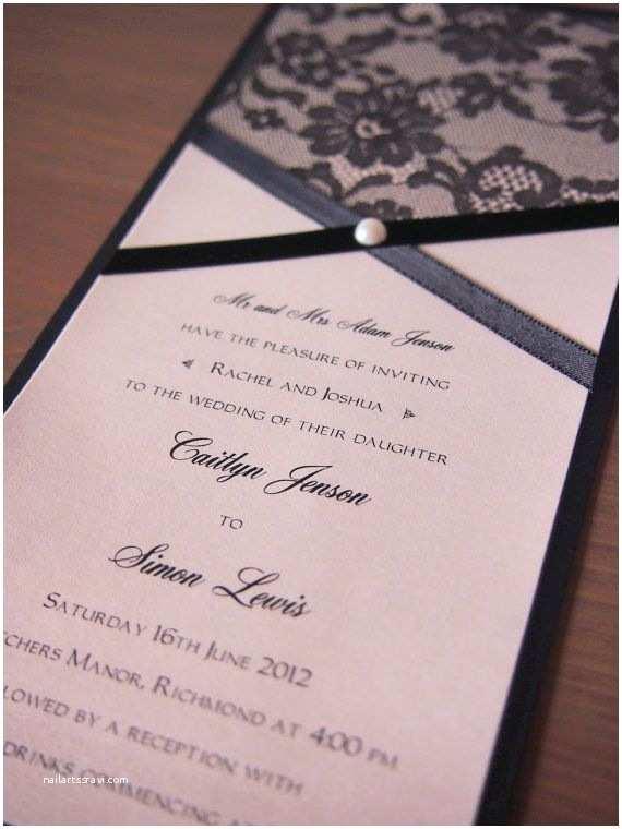 Black and Cream Wedding Invitations 48 Best Wedding Invitations Images On Pinterest