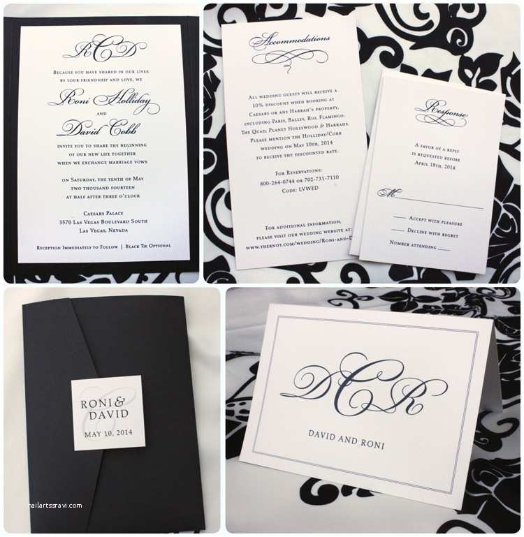 Black and Cream Wedding Invitations Classic Archives Page 4 Of 13 Emdotzee Designs