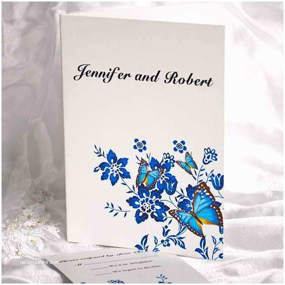 wedding silver royal blue flower girl