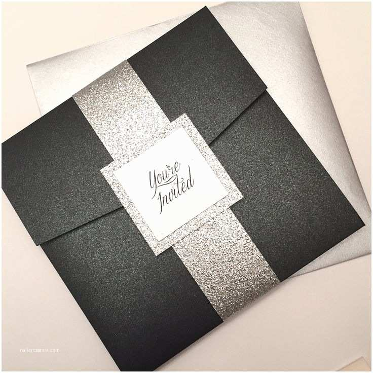 Black and Silver Wedding Invitations 26 Best Adult Birthday Invitations