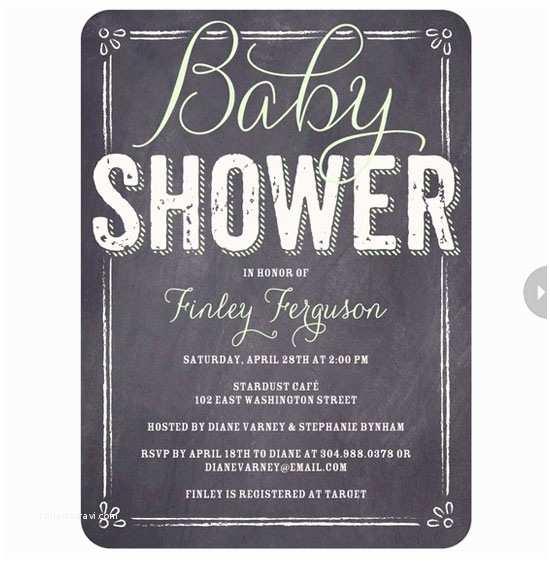 Black and White Baby Shower Invitations Black and White Baby Shower Invitations