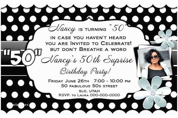 Black and White Birthday Invitations Black and White Birthday Invitations Ideas – Bagvania Free