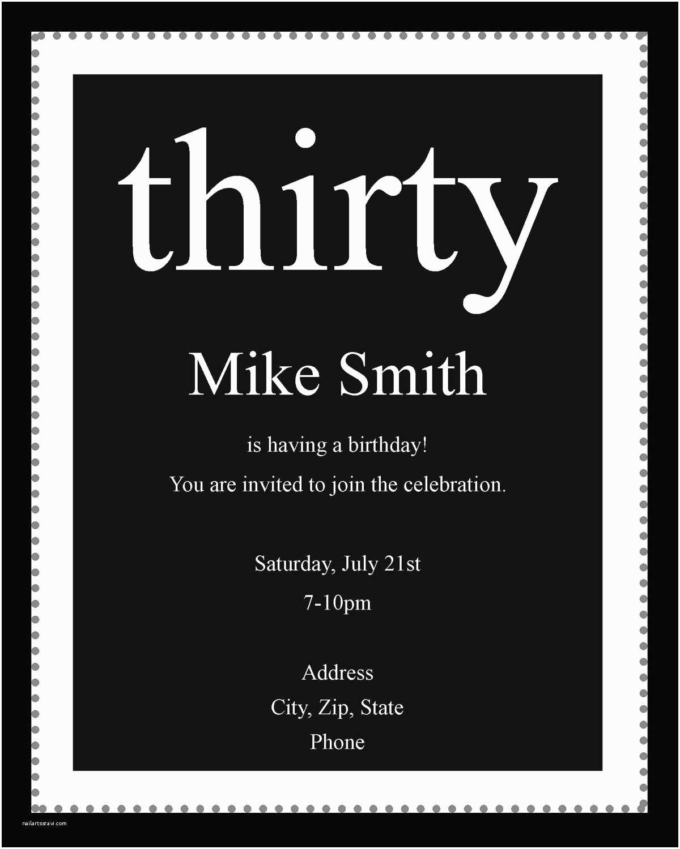 Black and White Birthday Invitations White Party Invitation Wording Black and White Party theme