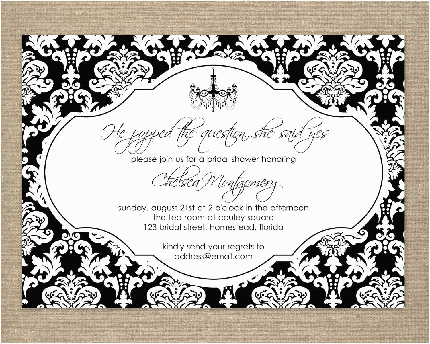 Black and White Party Invitations 8 Best Of Black and White Birthday Invitation