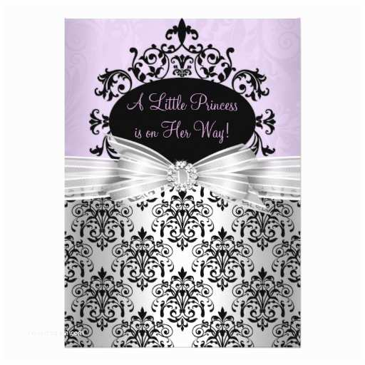 Black Baby Shower Invitations 455 Purple and Black Baby Shower Invitations Purple and