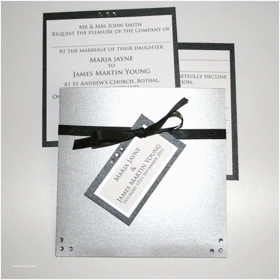 Black Tie Wedding Invitations Black Tie Wedding Invitation by Graphicembers On Deviantart
