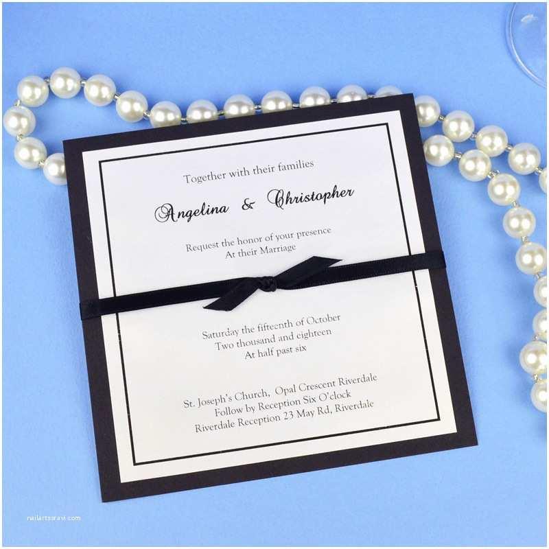 Black Tie Wedding Invitations Black Tie Wedding Invitation Wedding Invitations Ideas