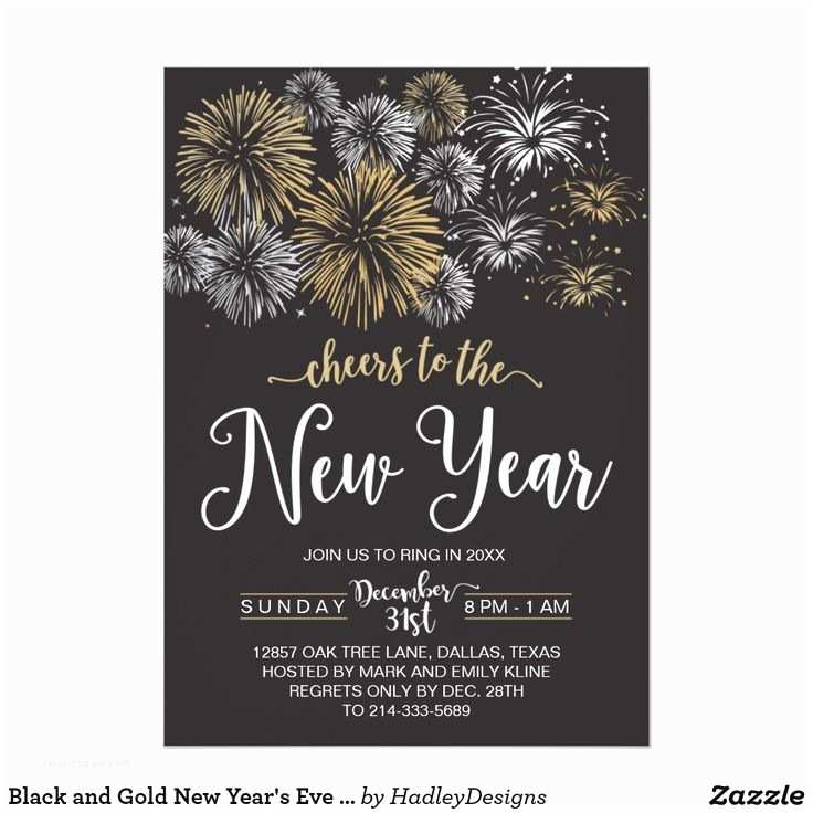 Black Wedding Invitation Kits Best 25 Black and Gold Invitations Ideas On Pinterest