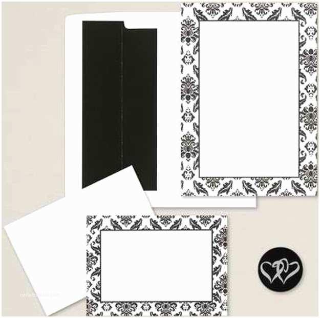 Black Wedding Invitation Kits Diy Wedding Invitation Kits Diy Ready
