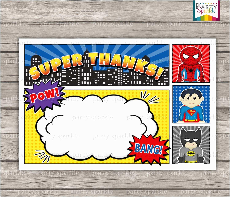 Blank Birthday Invitations 12 Free Printable Blank Superhero Birthday Invitation