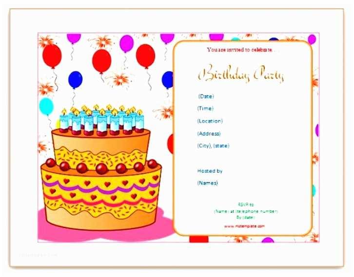Blank Birthday Invitations Birthday Invitation Draft Choice Image Invitation Sample