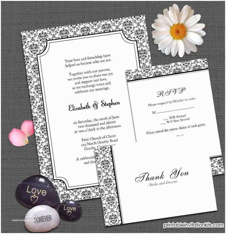 Blank Wedding Invitation Kits 7 Best Visite Uitnodigings Kaarten Images On Pinterest