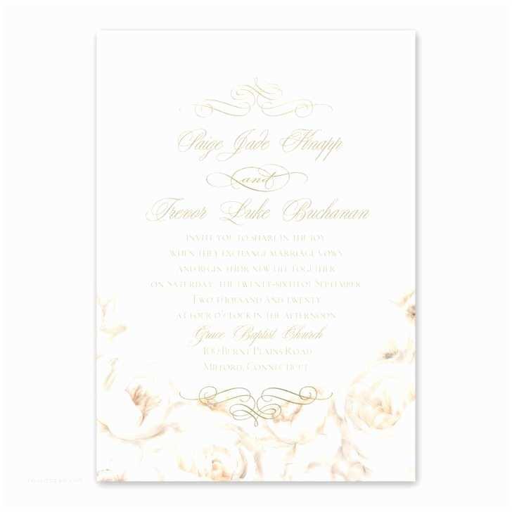 Blank Wedding Invitation Paper Chinese Wedding Invitation Card Paper Simple Style Blank