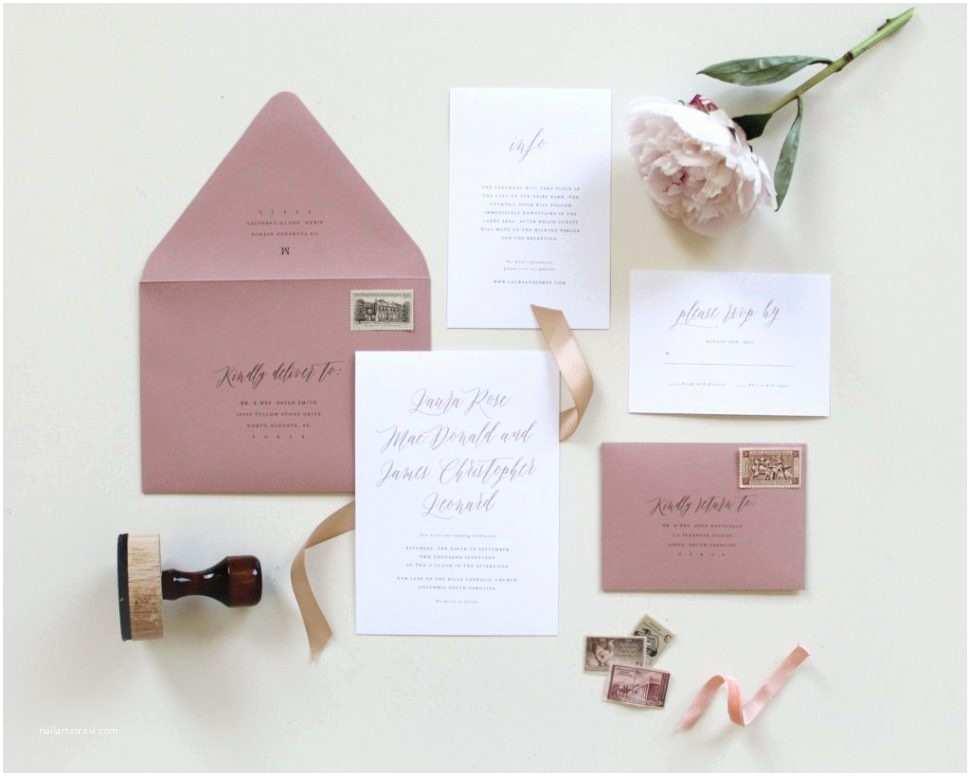 Blank Wedding Invitation Sets Henley Rustic Kraft Wedding Stationery Set Gan Claire