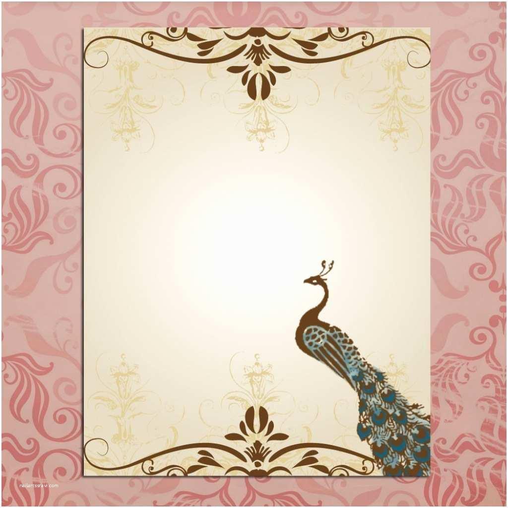Blank Wedding Invitation Stock Empty Wedding Invitation Card Designs Invitation Card
