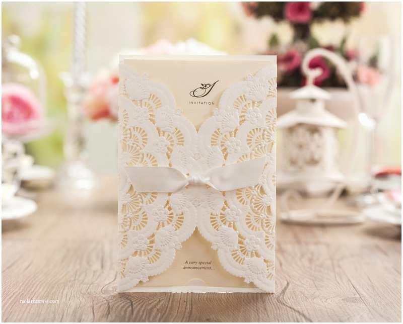 Blank Wedding Invitation Stock Laser Cut Wedding Invitations Blank White Birthday