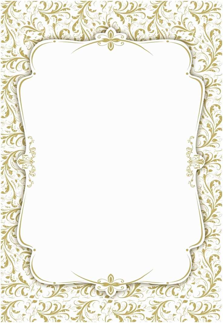 Blank Wedding Invitation Templates Blank Wedding Invitation Template